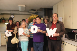 Members and volunteers showing their appreciation!